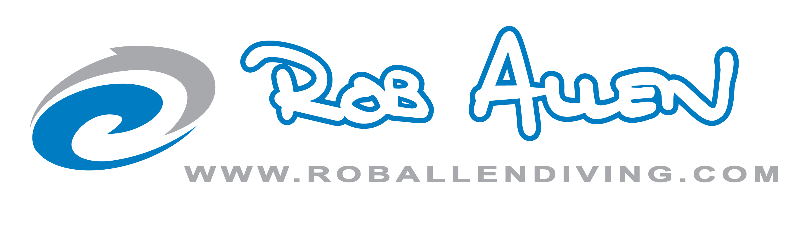 ROB ALLEN Diving LOGO B
